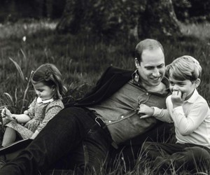 black & white, flowers, and prince william image