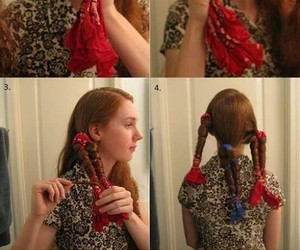 hair, diy, and curls image