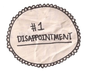 disappointment image