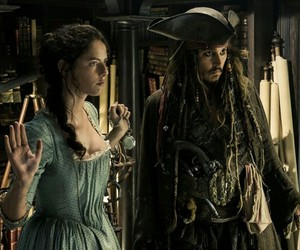 pirates of the caribbean, johnny depp, and dead men tell no tales image