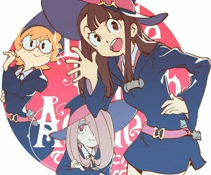 anime, little witch academia, and sucy manbavaran image