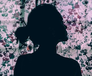 flowers, girl, and girly image