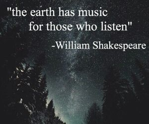 quotes, shakespeare, and space image