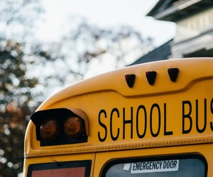 school bus, yellow, and hermm.tumblr.com image