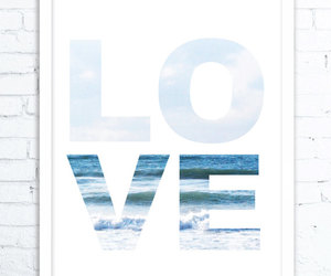 etsy, valentines day gift, and love print image