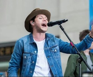 hat, today show, and niall horan image