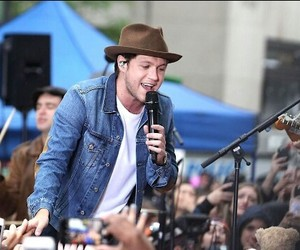 hat, today show, and one direction image