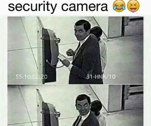 camera, funny, and security image