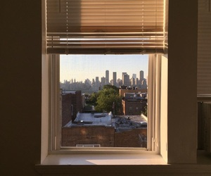 window, nyc, and aesthetic image
