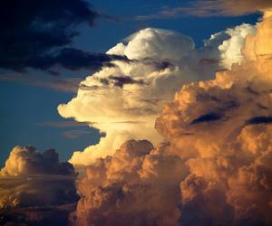 cloud, landscape, and sky image