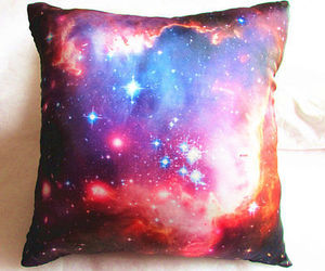 galaxy, pillows, and room decor image