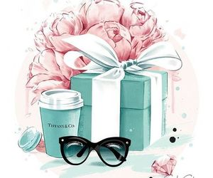 flowers, tiffany, and art image