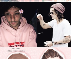 louis, pink, and wallpaper image