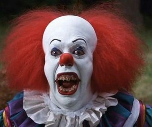 clown, it, and pennywise image