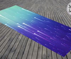 etsy, mandala yoga mat, and meteor shower image