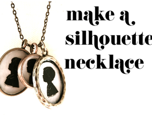 crafts, diy, and necklace image