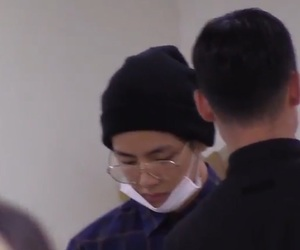 airport, boy, and kpop image