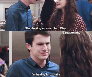 13 reasons why, hannah baker, and dylan minnette image