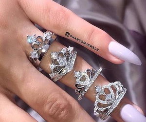 nails, ring, and crown image