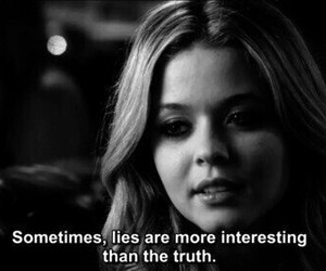 pretty little liars, pll, and lies image