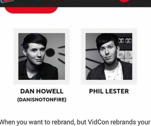 dan, dan howell, and lester image