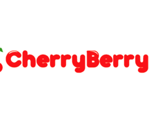 Logo, menu, and cherryberry image
