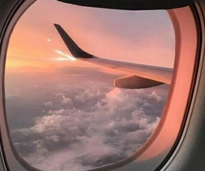 travel, aesthetic, and clouds image
