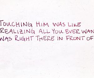 handwritten, Lyrics, and red image