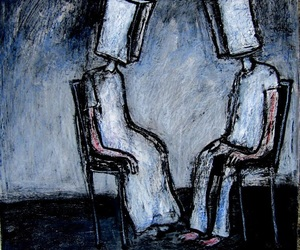 art, surrealism, and together alone image