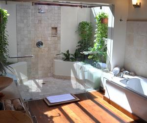 bathroom, Caribbean, and vacation image