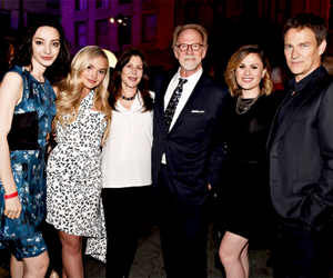 anna paquin, emma dumont, and stephen moyer image