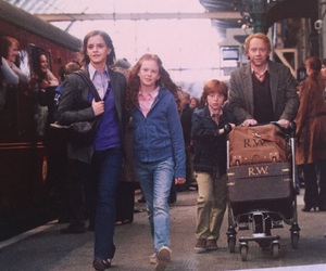 hermione granger, ron weasley, and harry potter image