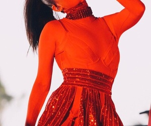 banks, red, and coachella image