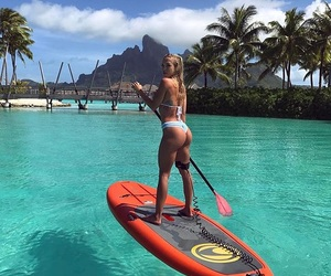 summer, tammy hembrow, and beach image