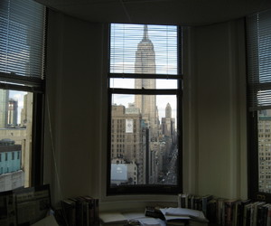 architect, view, and new york image