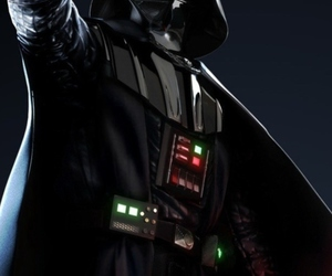 dark side, darth vader, and love image