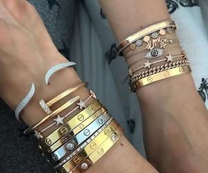 bracelet, bracelets, and cartier image