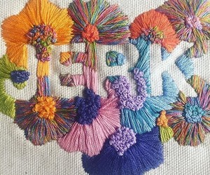 embroidery, jerk, and words image