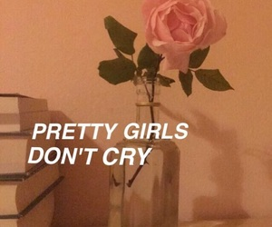 cry, girl, and quotes image