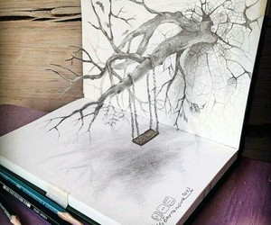 3d, pen, and art image