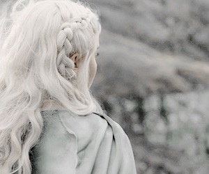 hair, game of thrones, and white image