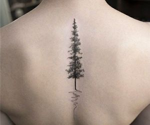 back tattoo, tattoo, and ink image