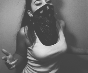gangster and chicana image