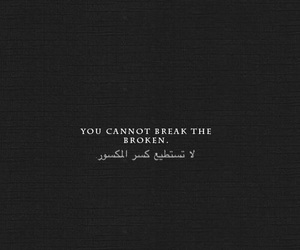 quotes, broken, and arabic image