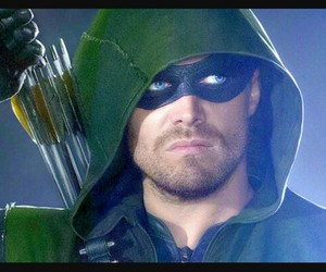arrow, DC, and green image