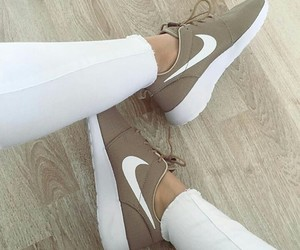 beige, inspo, and nike image