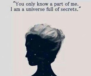 quotes, secret, and universe image