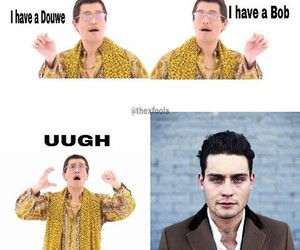 funny, ppap, and douwe bob image