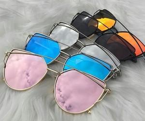 belleza, colores, and gafas image