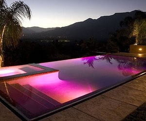 pool, pink, and luxury image